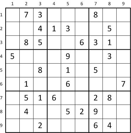Using PyEDA to Solve Sudoku — Python EDA Documentation